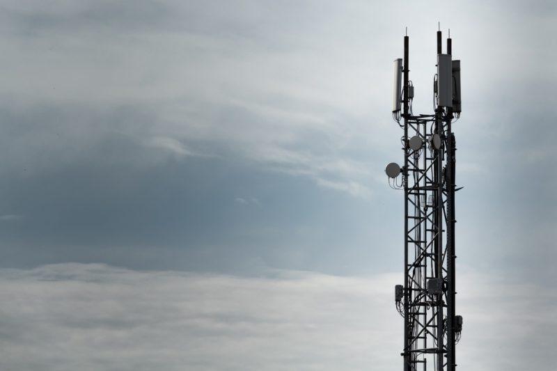 LTE基地局のアンテナ